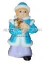 Новогодняя фигура Снегурочка 55 см