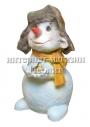 Новогодняя фигура Снеговик 50 см