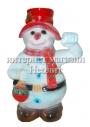 Новогодняя фигура Снеговик 85 см