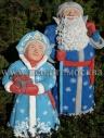 Композиция фигур Дед Мороз и Снегурочка