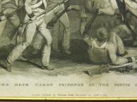 1815 год. Гравюра НАПОЛЕОНОВСКИЕ ВОЙНЫ в раме