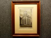 1928 год. Первый небоскреб Москвы! ДОМ МОССЕЛЬПРОМА в раме