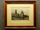1928 год. Москва ДЗЕРЖИНСКАЯ ПЛОЩАДЬ с ВЛАДИМИРСКИМИ ВОРОТАМИ