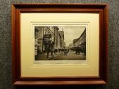 1928 год. Москва НИКОЛЬСКАЯ УЛИЦА в раме
