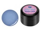 Цветной гель лак с терма эффектом D/001 синий