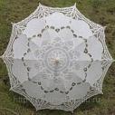 Зонтик невесты кружевной. Пр-во Италия.