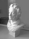 Молодой Пушкин, Скульптурный портрет, портрет исготовлен в скульптуре