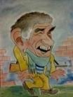 Шарж на заказ с фотографии Армена Джигарханяна, шарж по фото