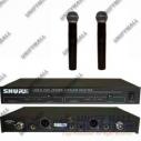 микрофон SHURE LX88-II радиосистема 2 микрофона SHURE SM58.магазин