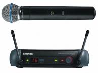 Микрофон SHURE PGX24/BETA58 проф.радиосистема.магазин.( НЕ РЫНОК)