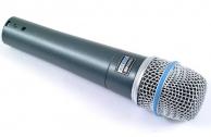 Микрофон SHURE BETA 57 A вокально-инструментальный.МАГАЗИН.(не рынок)