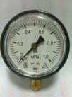 Манометр избыточного давления МТ-100 присоединение штуцер с наружной резьбой G 1/2