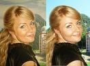 Картина, Маслом на холсте, Портрет девушки, сходство