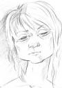 Портрет девушки (карандаш) A4