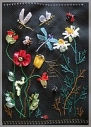 Картина «Полевые цветы» 300:200 мм