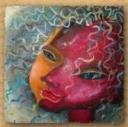 Портрет маслом на холсте в стиле сюрреализм (пример) (A4)