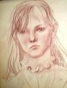 Портрет в стиле реализм (сангина) A4