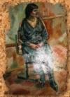 Портрет маслом на холсте (пример) (A1)