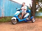 Трехколесный скутер GX Jeans (ДЖИНС) одноместный