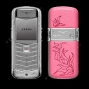 Vertu Constellation Vivre Stal Pink Leather