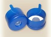 Пробка форма № 1 голубая без этикетки