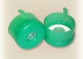 Пробка форма № 1 зеленая без этикетки