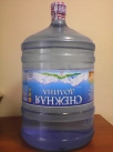 """Вода минеральная природная питьевая столовая """"Снежная долина"""" 19 литров"""
