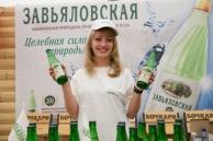 """Минеральная природная лечебно-столовая вода """"Завьяловская"""" 0,5 л."""