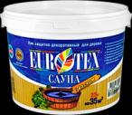 Лак для саун защитный термостойкий Eurotex-Сауна