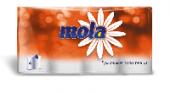 Бумажные полотенца Mola 2-х сл. белые 4 рулона (7 шт. в упаковке)