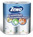 Бумажные полотенца ZEWA 2-х сл. 2 рулона (12 шт. в упаковке)