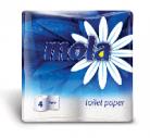 Туалетная бумага Mola 2-х сл. белая 4 рулона (10 шт. в упаковке)