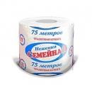 Туалетная бумага Неженка Семейная 75 метров (в одной упаковке 36 рулонов)