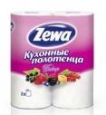 Полотенца бумажные Zewa Декор 2-х сл. 2 рулона (12 шт. в упаковке)
