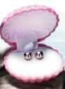 Серьги «Лаурелия» розовый жемчуг