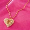 Кулон Сердце на цепочке