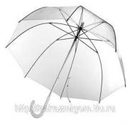Зонт прозрачный, механический